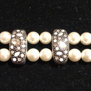 Brighton Pearl with Opal and Rhinestone Bracelet